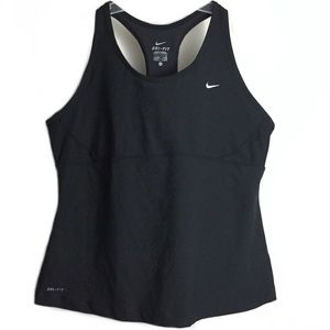 Nike Tank Top Racerback Dri Fit Activewear Top